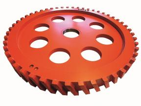 Milling Wheel with Metal Body