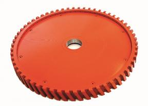 Milling Wheel with Plastic Body